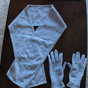 NWOT Land's End Scarf and Gloves
